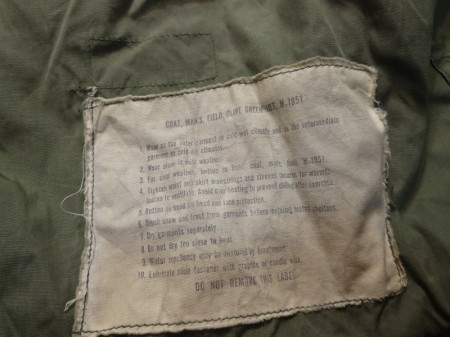U.S.AIR FORCE M-1951 Jacket 1960年代 sizeS-R used