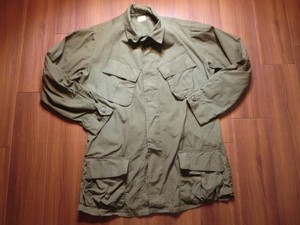 U.S.Coat Cotton Poplin 1968年 sizeM-Long used