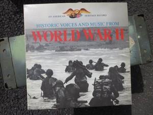 "U.S.Record ""Historic Voice & music WWⅡ"" used"