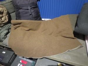U.S.Blanket Wool Olive Drab 1950年代 used