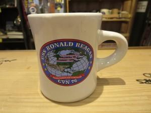 "U.S.NAVY Mug ""USS RONALD REAGAN CVN-76"" used"