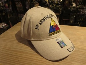 "U.S.ARMY Cap ""1st ARMORED DIVISION"" new"