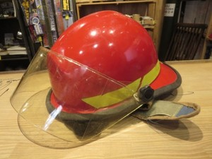 U.S.Helmet Fire Fighter 2010年 used