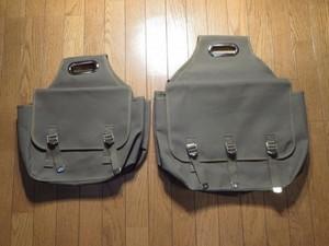 Saddle Bag Small(画像左) 当店モデル new