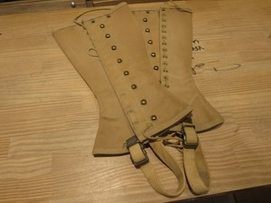 U.S.ARMY Leggins M-1938? 1940年代 size1R