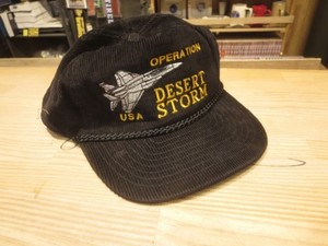 "U.S.Utility Cap ""OPERATION DESERT STORM"" used"