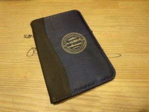 U.S.NAVY Note & Card Holder used
