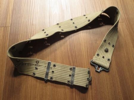 U.S.Pistol Belt Cotton M-1936 WWⅡ used