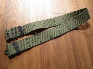 U.S.Pistol Belt Cotton M-1956 VietNamWar used