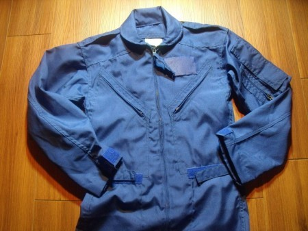 U.S.NAVY? Coveralls CWU-73/P 1987年 size32S new