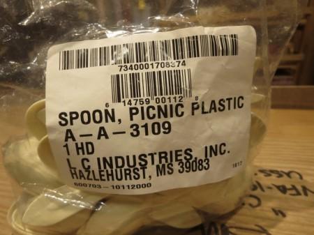 U.S.Spoon Picnic Plastic new