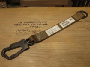 U.S.Fixed Snap Hook Strap used