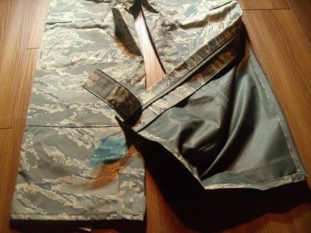 U.S.AIR FORCE Gore-Tex Trousers sizeXS-Regular new