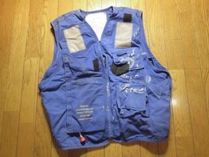 U.S.NAVY Vest Life Preserver FlightDeck sizeL used