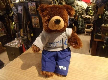 U.S.AIR FORCE Stuffed Bear Small used