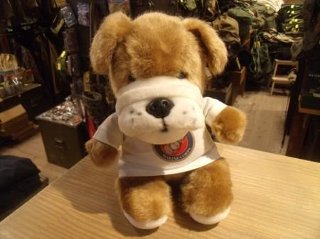 U.S.MARINE CORPS Stuffed Bulldog?