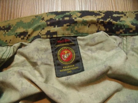 U.S.NAVY Blouse MARPAT MCCUU sizeM-Short used