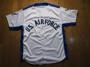 U.S.AIR FORCE Shirt BaseBall ? sizeL used