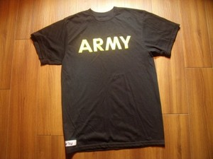 U.S.ARMY T-Shirt Physical Training sizeS used