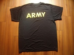U.S.ARMY T-Shirt Physical Training sizeL used