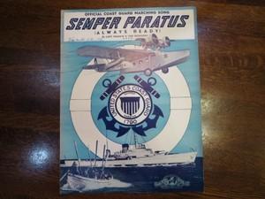 U.S.COAST GUARD Score 1930-1940年代? used