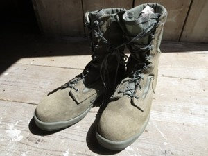 U.S.AIR FORCE Combat Safety Boots size8.5W used