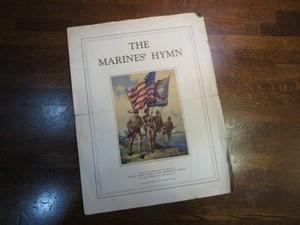 U.S.MARINE CORPS Score 193年代? 1940年代? used