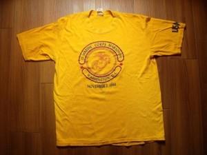 U.S.MARINE CORPS T-Shirt 1986年 sizeL used