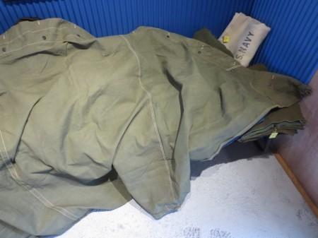 U.S.Tent Shelter Half 1945年 used