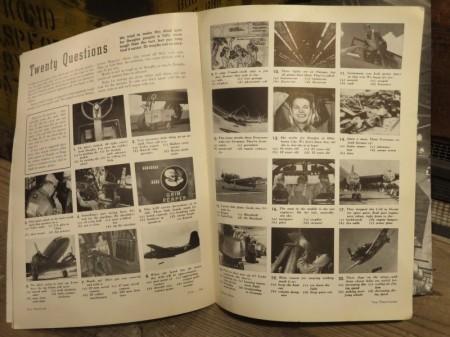 """U.S.Magazine """"DOUGLAS AIRVIEW"""" 1944年 used"""