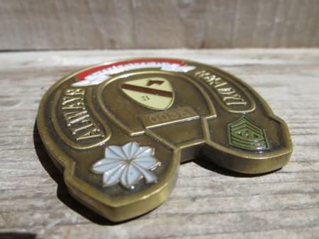 "U.S.ARMY Challenge Coin""1st Battalion 12thCavalry"""