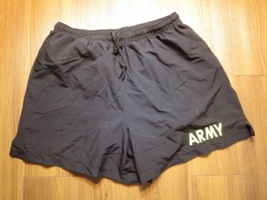 U.S.ARMY Trunks Physical Fitness sizeM used