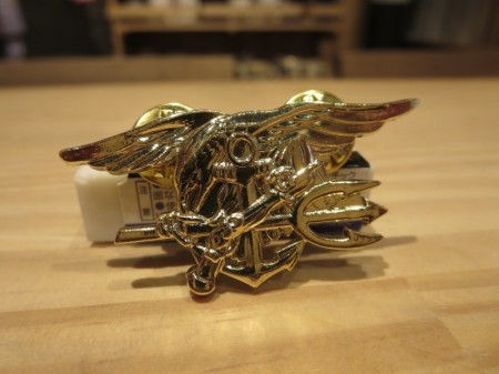 U.S.NAVY SEALS Insignia Gold Small