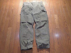 Canada Combat Trousers 1967年 sizeM used