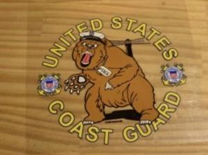 U.S.COAST GUARD STICKER new