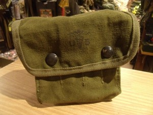 U.S.Cotton Pouch for First Aid 1967年 used