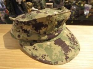 U.S.NAVY Cap Utility NWU TypeⅢ size7 1/4 used