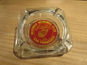 U.S.MARINE CORPS Ash Tray used
