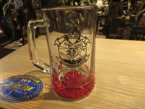 U.S.MARINE CORPS Beer Mug 2014年 used