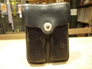 U.S.Pouch 2Magazines Leather 1951年 used