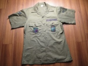 U.S.AIR FORCE Utility Shirt 1987年 size15 1/2 used