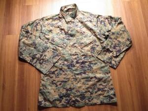 U.S.NAVY Blouse MARPAT WoodLand MCCUU sizeS-R used