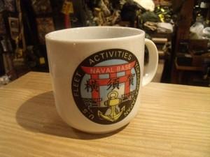 "U.S.NAVY Large Mug ""FLEET ACTIVITIES YOKOSUKA"""