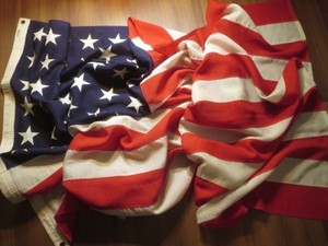 "U.S.Flag ""The 48Stars & Stripes"" 290cm×150cm new?"