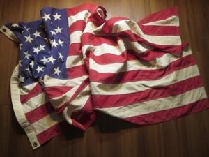 "U.S.Flag ""The Stars and Stripes"" 145cm×80cm used"