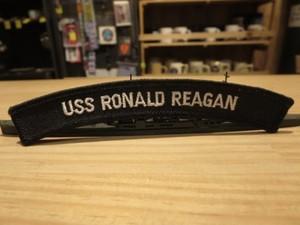 "U.S.NAVY Patch""USS RONALD REAGAN CVN-76"" used"