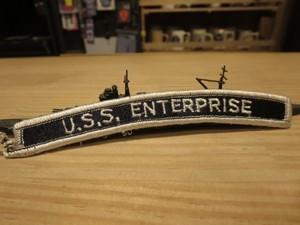 "U.S.NAVY Patch ""USS ENTERPRISE CVN-65"" used"