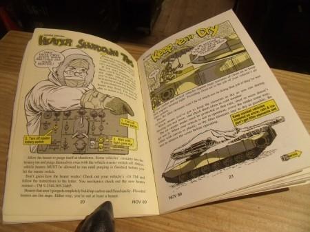U.S.ARMY PS MAGAZINE 1989年  NOVEMBER used