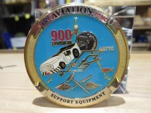 "U.S.NAVY Challenge Coin ""SUPPORT EQUIPMENT"""