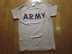 U.S.ARMY T-Shirt PhysicalTraining1990年頃 sizeXS new